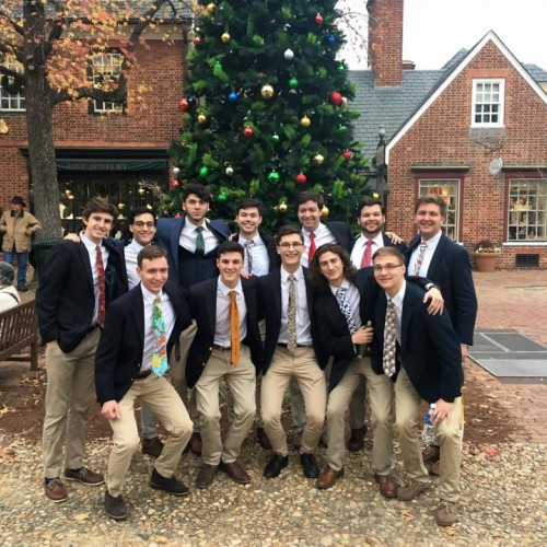 "Holiday Concert by the ""Gentlemen Of The College"" - William and Mary a capella group"