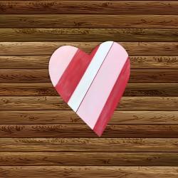 """""""Wooden Heart"""" Dixie Belle Chalk Paint Class"""