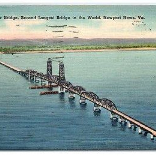 """A Vital Connection: The James River Bridge"""" Program at the Isle of Wight County Museum"""